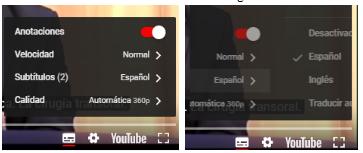 Como poner subtitulos en YouTube